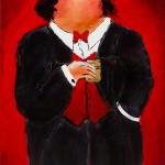 Als tweeluik verkrijgbaar samen met schilderij Gala 2