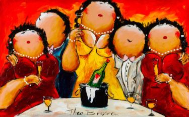 Dikke Dames Schilderij Theo Broeren