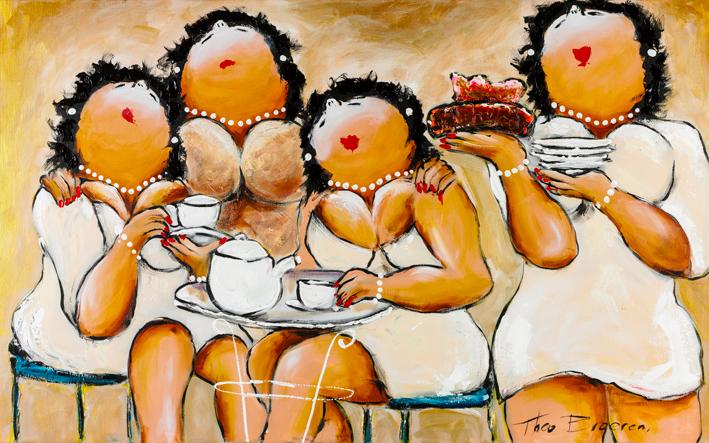 Theo Broeren Dames in het Wit