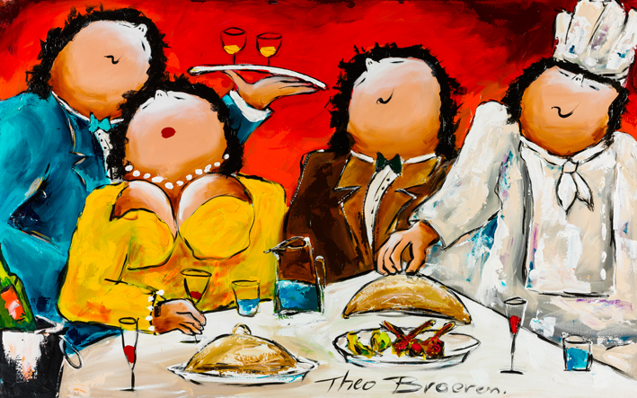 Theo Broeren Dinner For Two