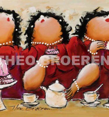 Dikke Dames Schilderij