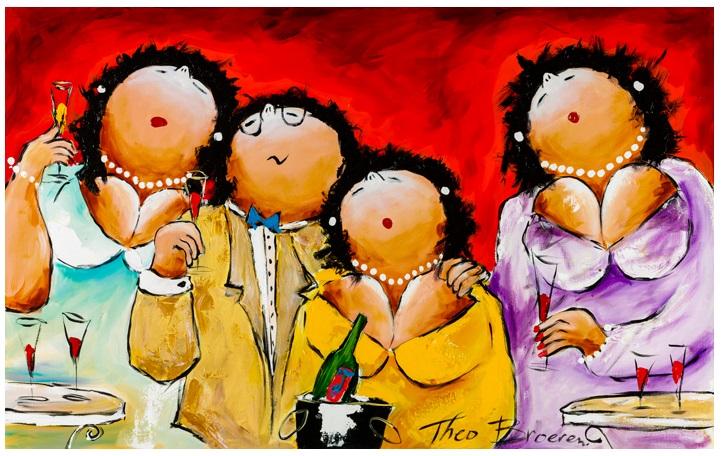 dikke dames schilderijen theo broeren offici235le website
