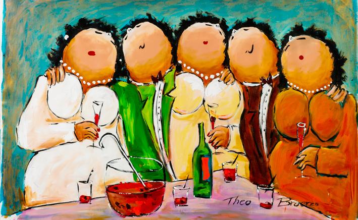 Theo Broeren Cocktail Feestje