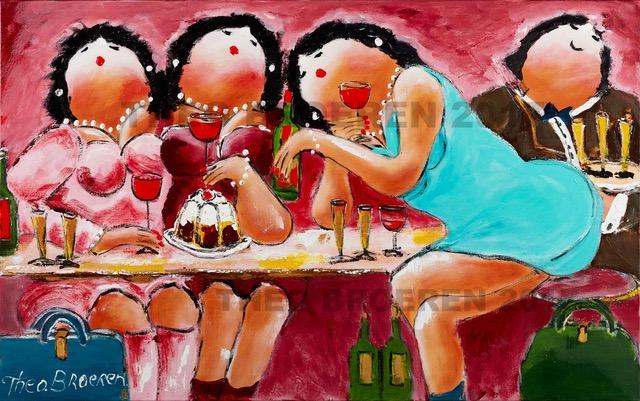 Theo Broeren Indulging Ladies
