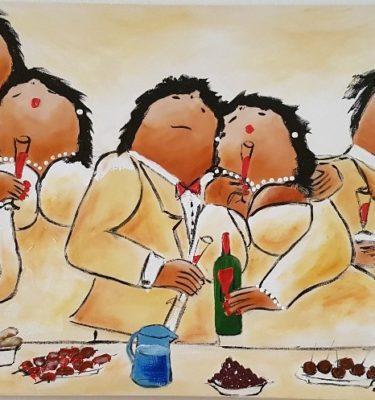 Dikke Dames Schilderij 3