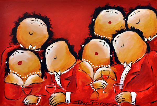 Theo Broeren Dresscode Red